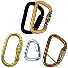 Steel Carabiners & Links