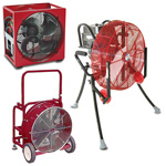 Electric Powered Fans