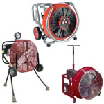 Gasoline Powered Fans