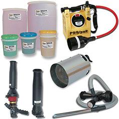 Foam, Nozzles & Equipment
