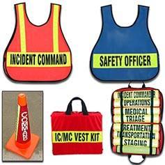 Incident Command Vests