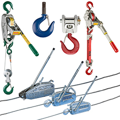 Manual Winch Hoists