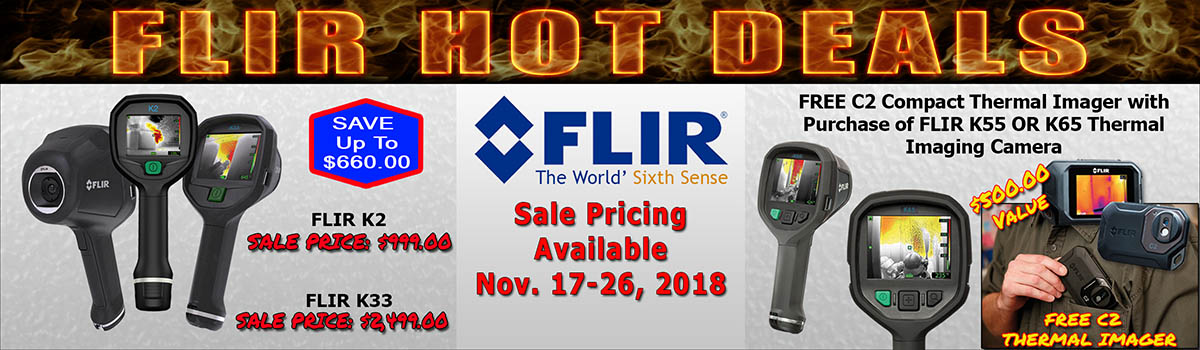 FLIR Cyber Week Promo 2018
