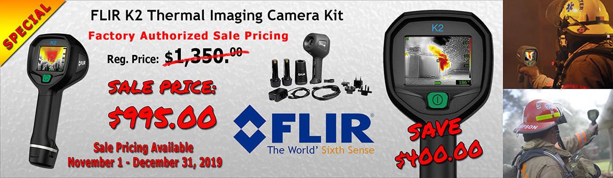 FLIR K2 Thermal Imaging Camera Special