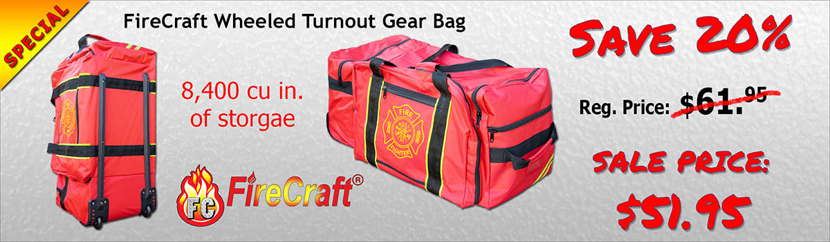20% Wheeled Turnout Gear Bag