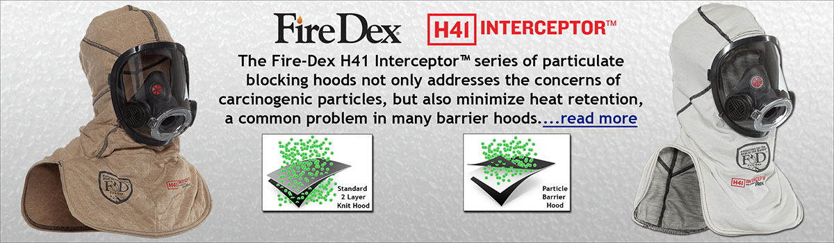 FireDex H41 Interceptor Hoods