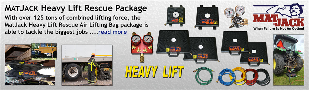 MatJack Heavy Lift Air Bag Package