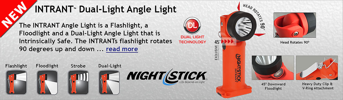 Night Stick INTRANT Right Angle Dual Light