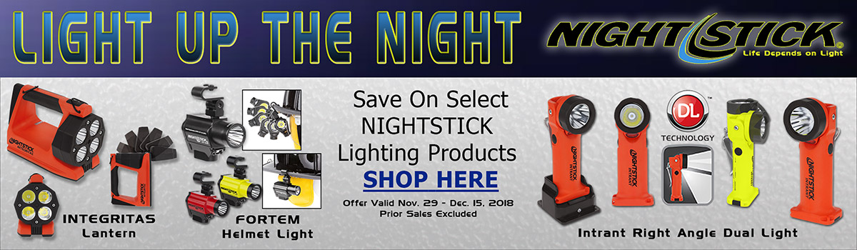Nightstick Lighting Cyber Promo 2018