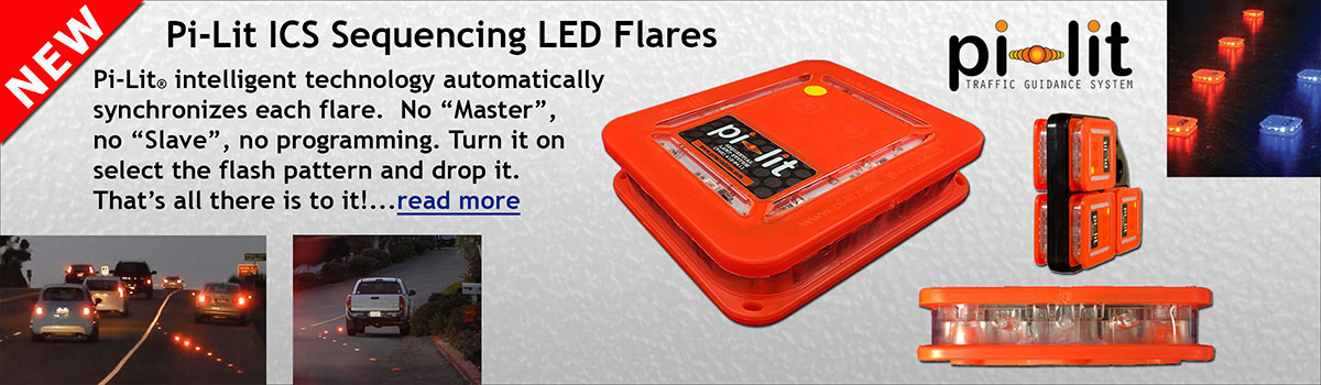 Pi-Lit LED Sequencing Flares