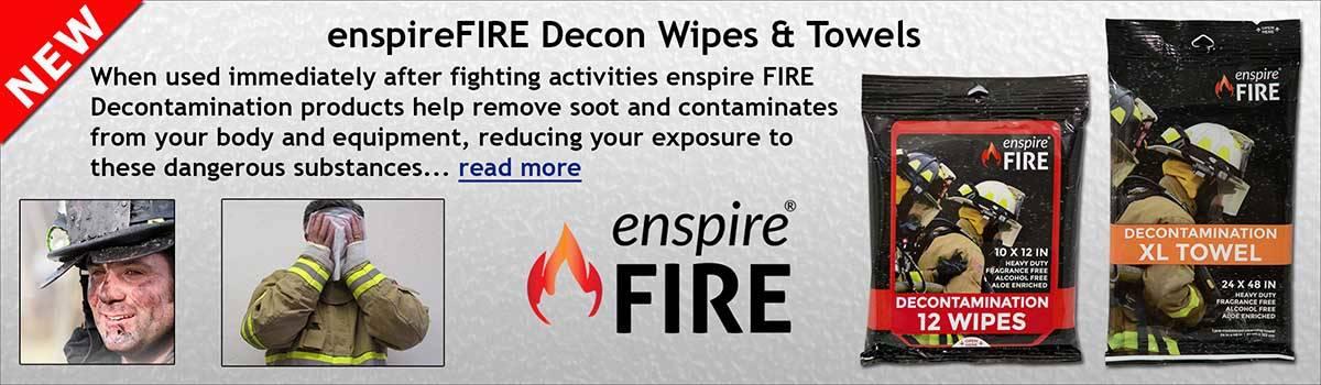 Enspire Fire Decon Wipes